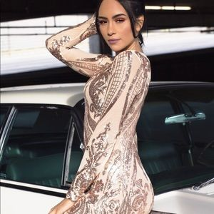 Hot Miami Styles Other - Sequins Jumpsuit